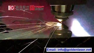 Fiber CNC Metal Laser Cutting Machine 1000W