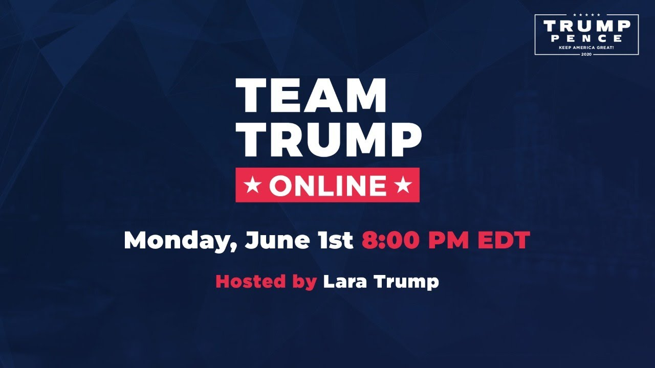 WATCH: Team Trump Online with Lara Trump, Rep. Mike Garcia, and Rep. Tom Tiffany!