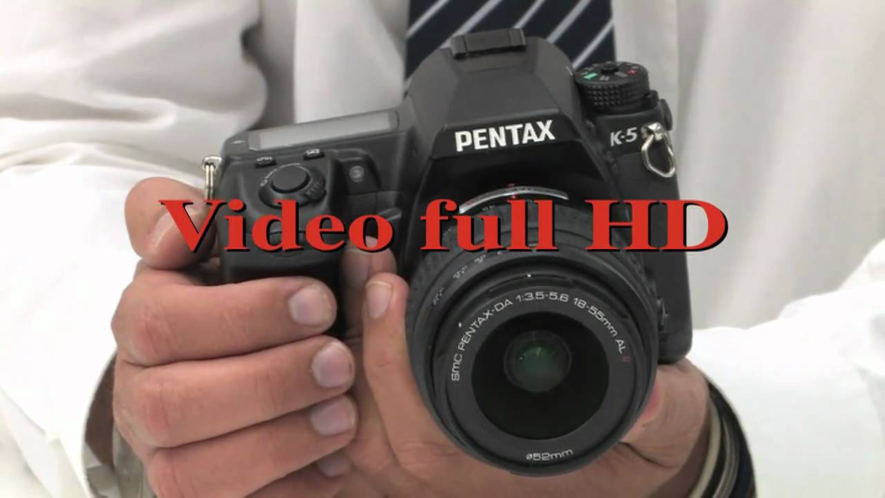 Pentax k-5 review video.