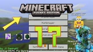 НОВЫЙ ПОДРОБНЫЙ ОБЗОР - Minecraft PE 1.7 (скачать! )