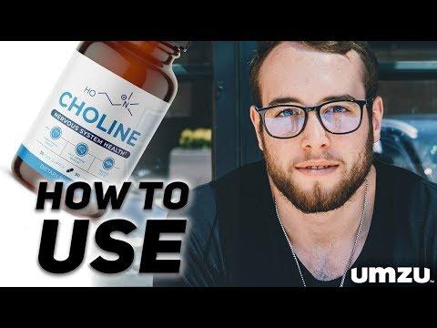 How To Use Choline By UMZU