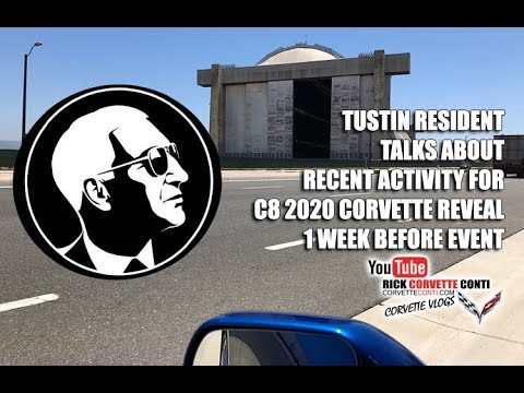 Tustin California Resident Talks About C8 Corvette Reveal Activity