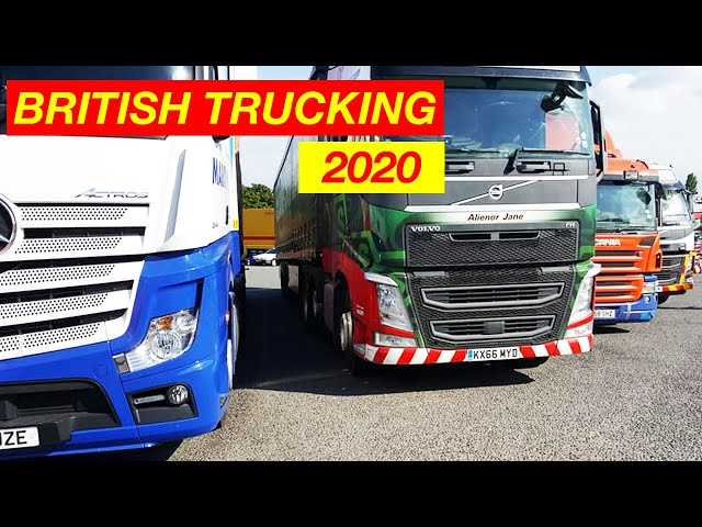 British Trucking 2020 For British Truck Drivers