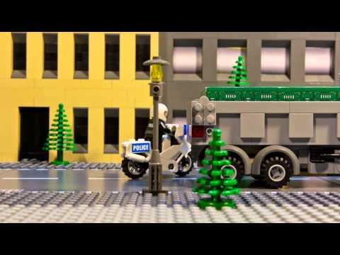현금 도둑 - 레고 시티 - 팬 창작 비디오