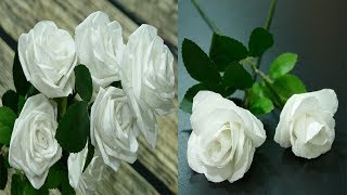 3 Ways to Make Roses with Toilet Paper -- Flowers DIY