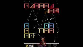 111 % BBTAN Game 514-515 level playing very hard :)