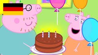 Peppa Wutz   Geburtstage    Peppa Pig Deutsch Neue Folgen   Cartoons für Kinder