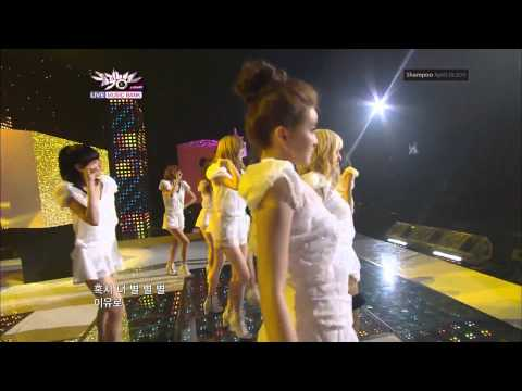 [1080p HD] After School comeback stage- Let's step up + Shampoo 110429
