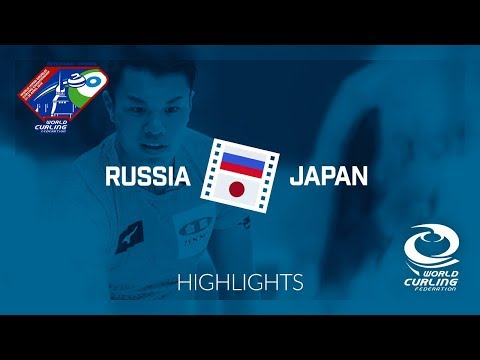 HIGHLIGHTS: Russia v Japan - World Mixed Doubles Curling Championship 2018