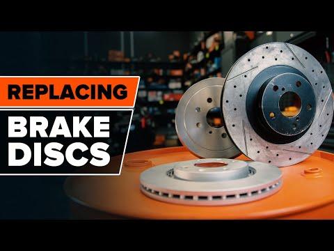 How to change brake discs [AUTODOC TUTORIAL]