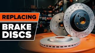 Change the Brake Discs yourself – free instructional video