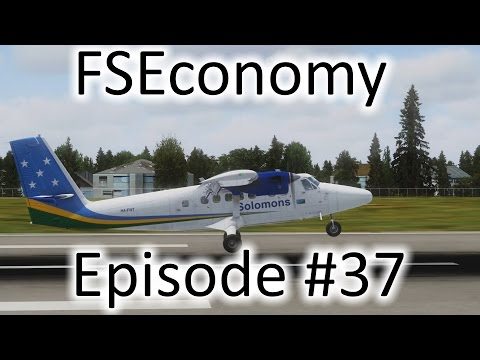 FSX | FSEconomy - Ep. #37 - More Twin Otter | DHC-6 Twin Otter