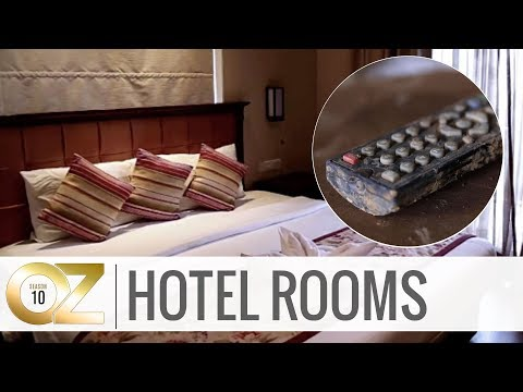 5 Dirty Items in Hotel Rooms