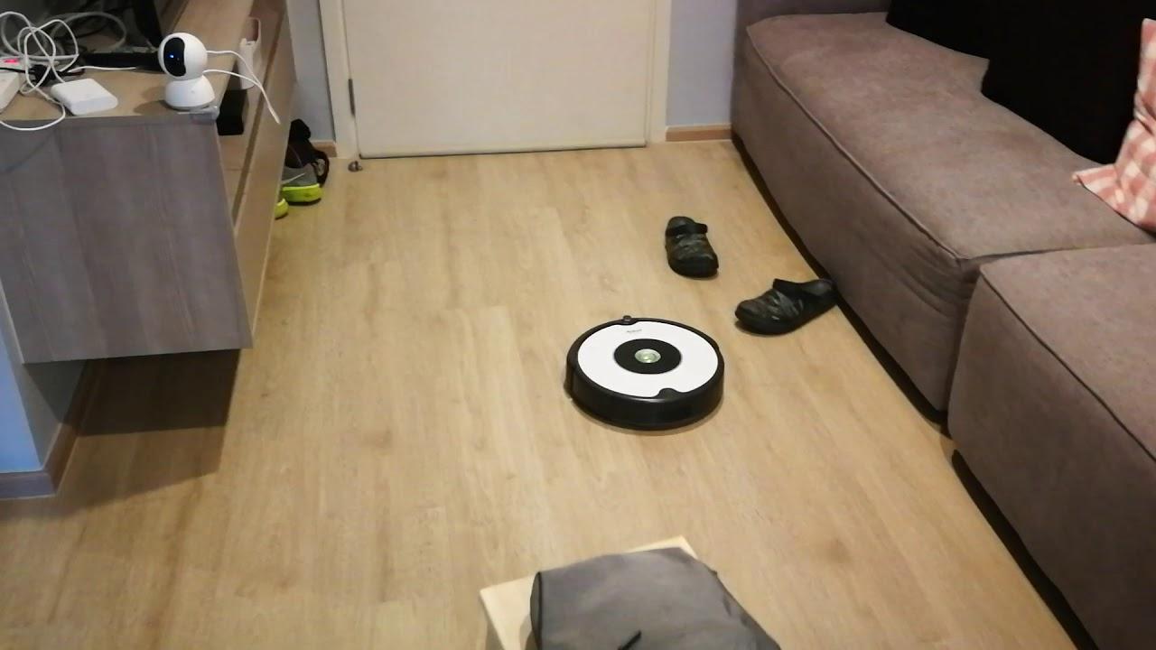 video iRobot Roomba 605