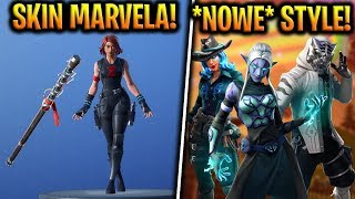 * NEW * FREE SKINS! BLACK WIDOW IN FORTNITE! -Fortnite Battle Royale