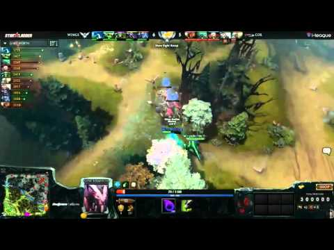 Wings Gaming vs  compLexity Lower Bracket ESL One Manila Game 1. Wing vs Col LB ESL game 1