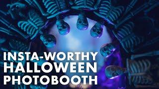 Spooky Halloween DIY Photo Booth- HGTV Handmade