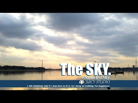Evening of Waterside birds. The Cascades. The SKY - #NamelessSky 【 Relax Timelapse 】