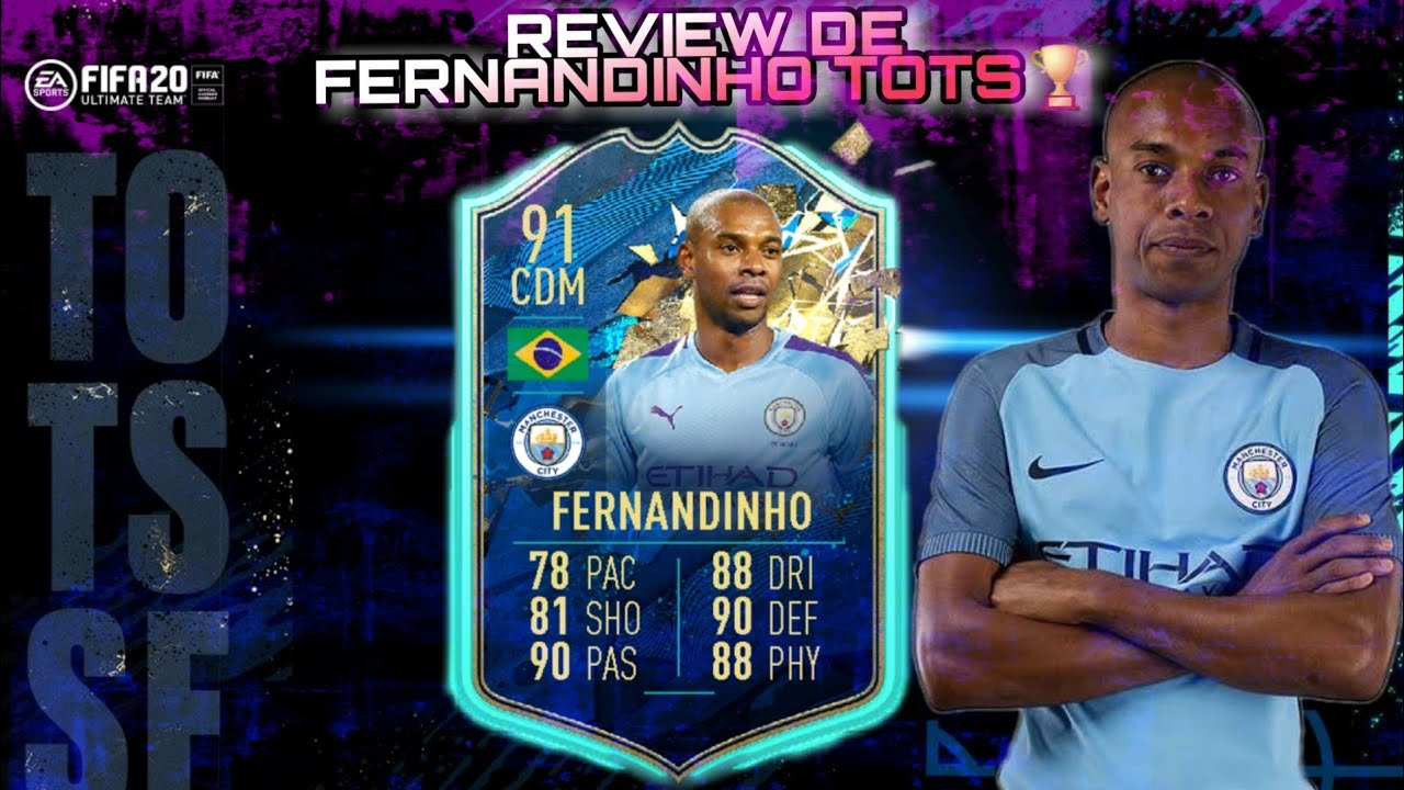 Review de FERNANDINHO TOTS. FIFA 20 EN ESPAÑOL. - YouTube