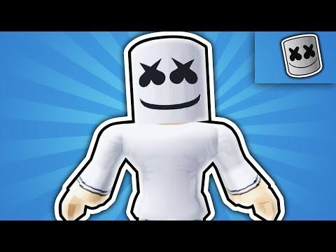 How To Be Marshmello In Robloxian Highschool Youtube - como vestirse como marshmello sin robux how to get robux