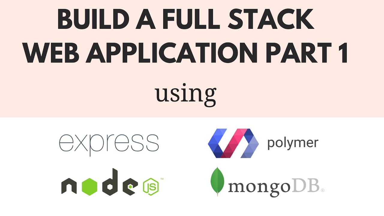 How To Use Nodejs And Express Build Your Own Back End Server
