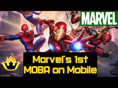 Marvel Super War Game Trailer | New Game For Android | Multiplayer Online Battle Arena (MOBA)