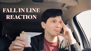 fall in line christina aguilera feat: demi lovato reaction