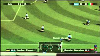 México Vs Argentina - Winning Eleven 9