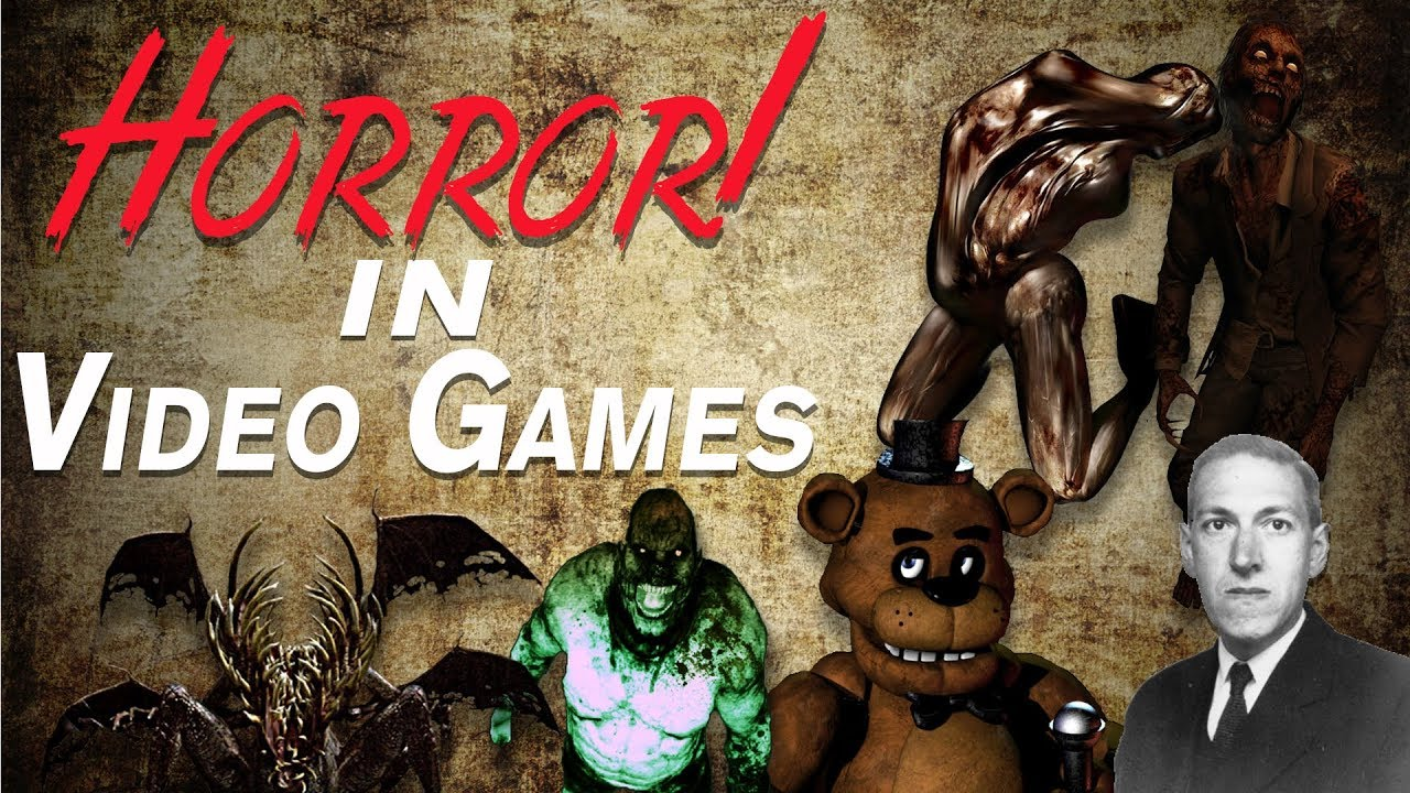 Horror In Video Games What Makes A Good Horror Game Youtube