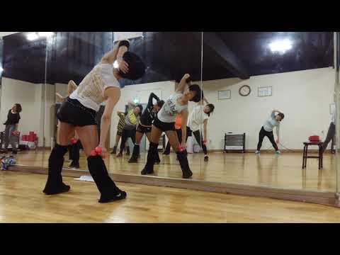 아령운동, 스쿼트 - 초보자를 위한 아령 운동, 덤벨  운동, 팔 근력운동, 스쿼트 (오전 2부) - 공릉동 송쌤에어로빅