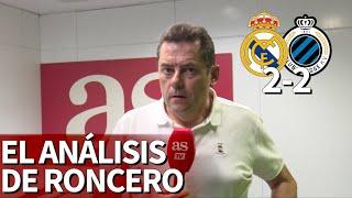 Real Madrid 2 Brujas 2 | Roncero avisa a Hazard hasta 5 veces: