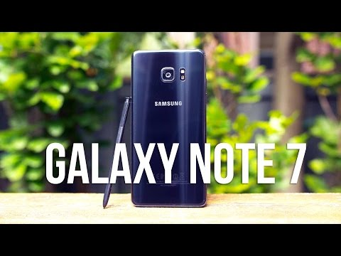 Samsung Galaxy Note 7 Review: The ALMOST Perfect Phone!