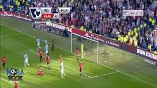 Manchester City vs Manchester United 4-1 Highlights 2013