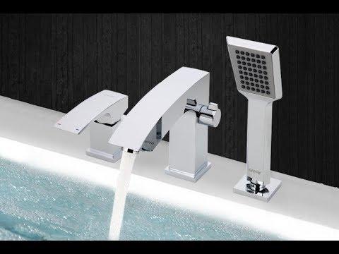 Смесители на борт ванны в интернет-магазине сантехники ванна-анна. Общие характеристики тип однозахватный назначение для ванны/душ.