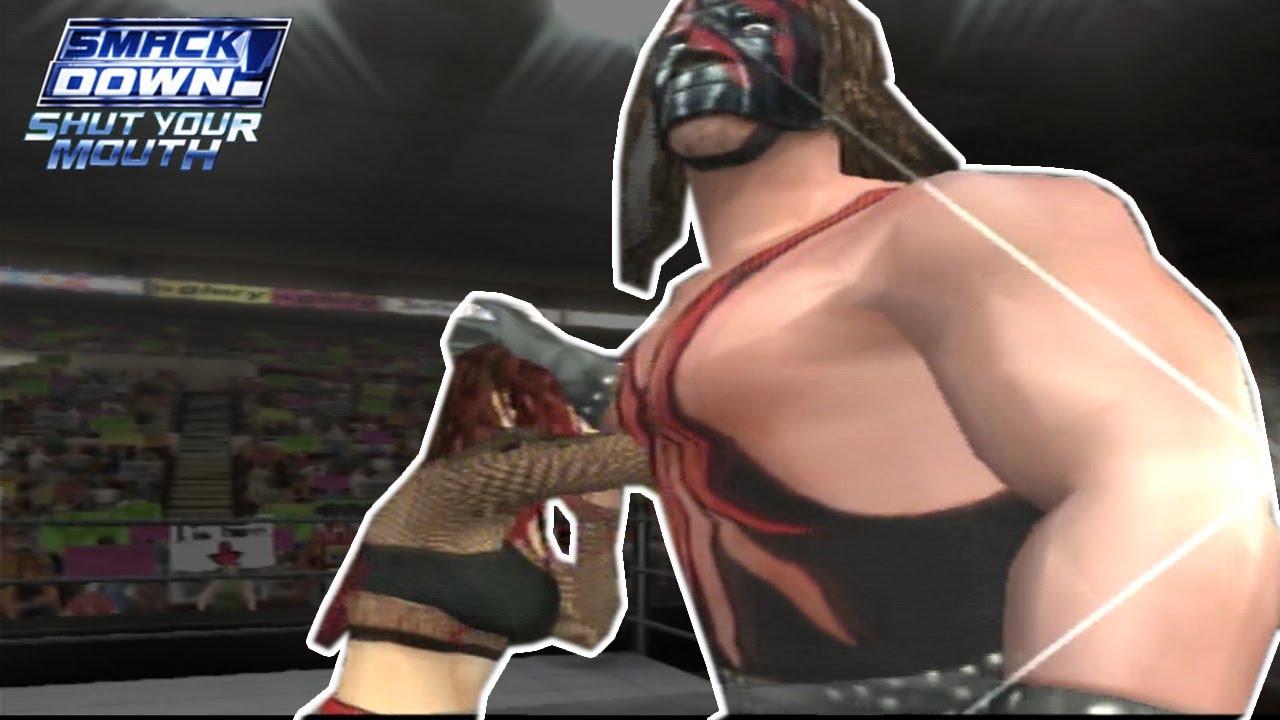 Smackdown Shut Your Mouth   Kane Chockeslam Finisher All Divas