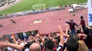 """Coro """"Romagna Mia"""" dalla Curva Bulgarelli di Bologna vs Cesena"""