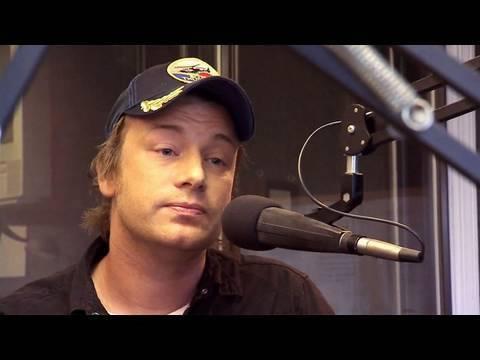 Defensive DJ - Jamie Oliver's Food Revolution   Promo Clip   On Air With Ryan Seacrest