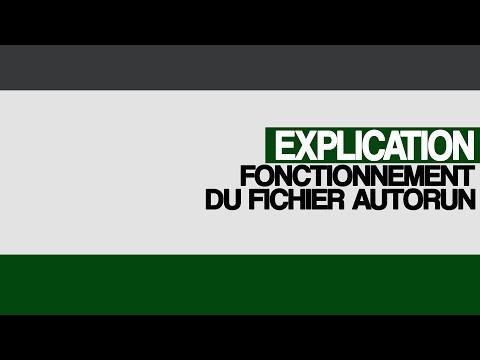 """Explication du fonctionnement du fichier """"AutoRun"""" (Suite Rootkit)"""