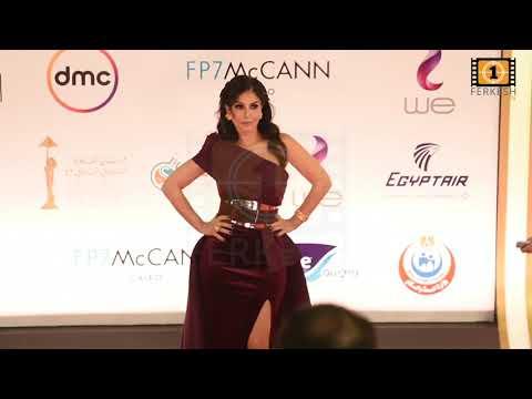 بسمة تشعل مهرجان القاهرة السينمائى ٢٠٢٠ بفستان مثير جداااا