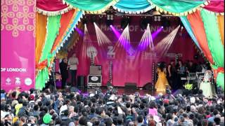 Diwali 2015 celebrations on Trafalgar Square in LONDON  Vid-3