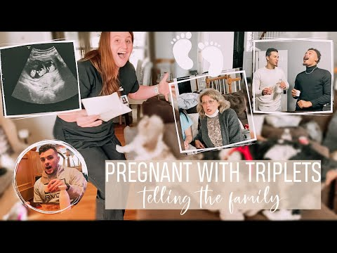 Download TRIPLETS PREGNANCY ANNOUNCEMENT  *telling our family and friends*!!!!