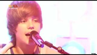 "Justin Bieber singing ""One Time"" acoustic, his Best Live Performance video on youtube"