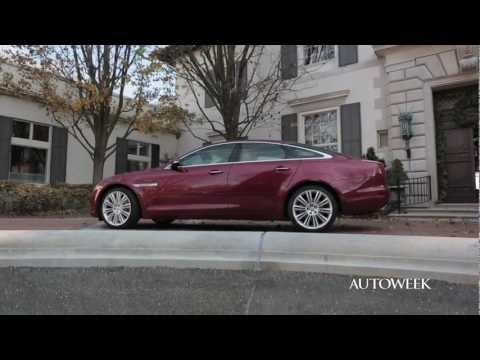 2013 Jaguar XJ 3.0 supercharged V6 - Autoweek drive review with Andrew Stoy
