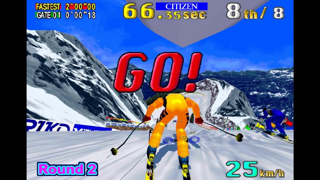 8d7a40c6f6bd SEGA Ski Super G World Series Mode Gameplay - YouTube