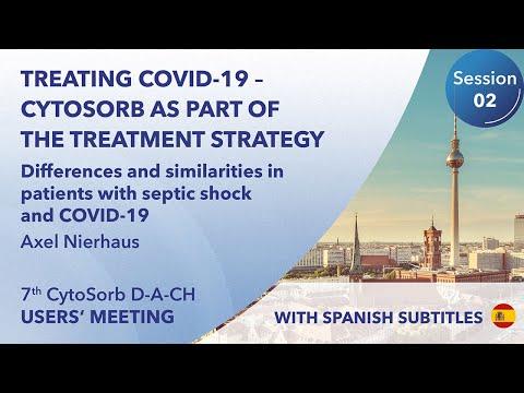 Diferencias y similitudes con pacientes en shock séptico | Axel Nierhaus