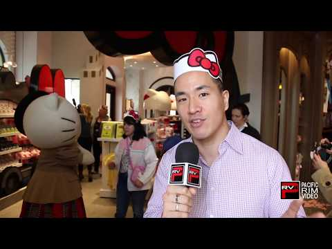 Universal Studios Hollywood Launch the Hello Kitty Animation Studio Store