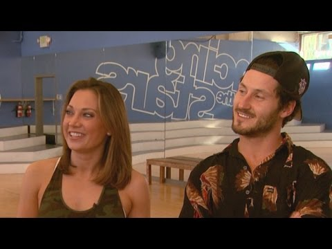 EXCLUSIVE: Val Chmerkovskiy Wants Ginger Zee to Face Her Fears With