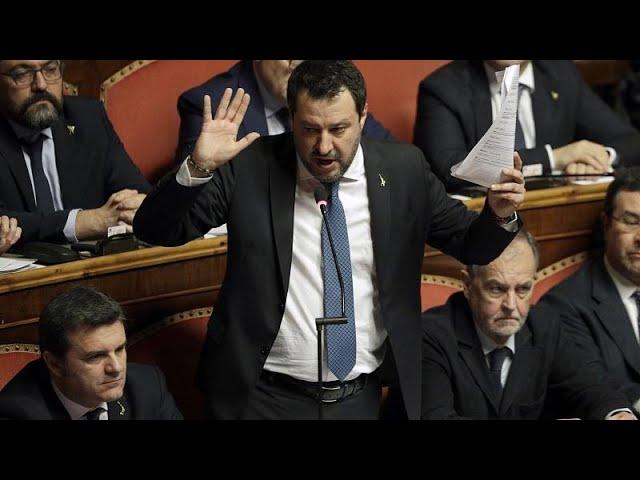 <span class='as_h2'><a href='https://webtv.eklogika.gr/' target='_blank' title='Ιταλία: Δεν παραπέμπεται σε δίκη ο Σαλβίνι για το πλοίο Gregoretti…'>Ιταλία: Δεν παραπέμπεται σε δίκη ο Σαλβίνι για το πλοίο Gregoretti…</a></span>