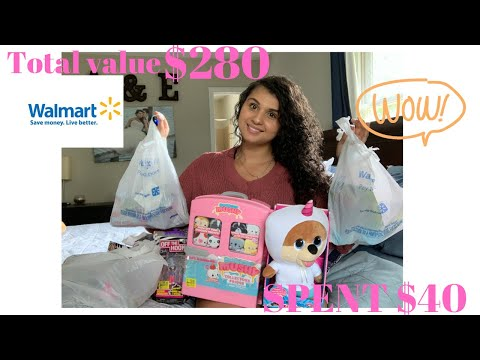 Walmart Clearance Haul 80% Off Items!! $1 TOYS & $1 Kids Clothes