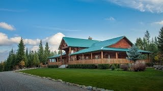 Log Home Real Estate For Sale